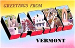 Barre Vermont Greetings