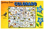 Colorado Map Greetings