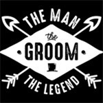 The Man The Groom The Legend WHT