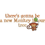 New Monkey In Our Tree