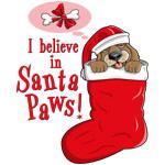 Santa Paws Puppy