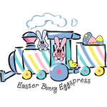 Easter Bunny Eggspress