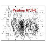 Bible Puzzles for Children, Christian Puzzles