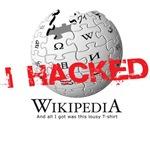 i hacked WIkipedia
