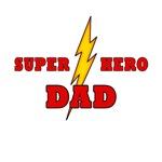 SUPER HERO DAD T-SHIRTS
