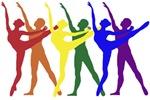 Rainbow of Dancers