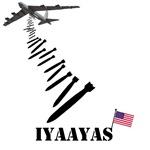 IYAAYAS Patriotic American Flag B52 T-Shirts