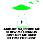 Lost T-Alien abduction theory