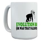 Evolution rocks Coffee Mugs