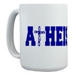 Atheist Mugs-Crucifixion design