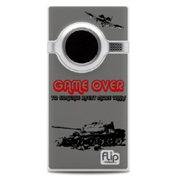Flip Mino camcorder with an A 10 Warthog theme