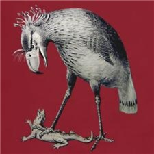 Phororhacos longissimus, Terror Bird of Patagonia
