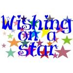 Colorful & Pretty Wishing Stars T-shirts & Gifts