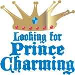 Looking For Prince Charming T-shirts & Gifts