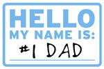 Hello My Name Is: Dad, Daddy, Mulligan, and more