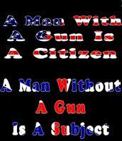 A man without a gun