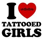 i love tattooed girls