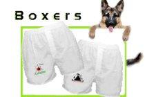 GSD Fleece Shorts &  Boxers