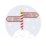 Elf Street North Pole