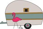 Camper Flamingo