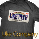 Uke USA License Plate