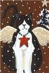 Fat Angel Cat