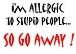 stupid people allergy