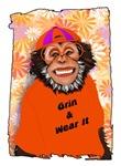 Grin & Wear It Funny Monkey Chimpanzee