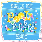 Pool Party Themed Merchandise & Products