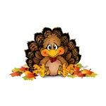 Little Turkey Thanksgiving Gifts and Apparel