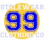 rock the 99 varsity style