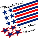 Service Men And Women Thanks