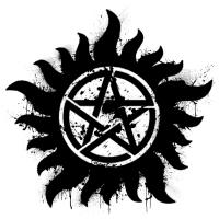 Anti-Possession Symbol Black (Splatter)