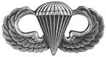 Airborne basic parachutist badge