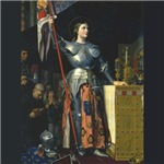 Joan in Armor