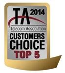 2014 Customers Choice Top 5