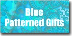 Blue / Turquoise Patterned Gifts