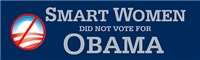 Smart women did not vote for Obama