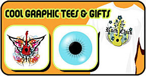 Cool graphic tees & gifts
