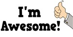 I'm Awesome t-shirts & gifts