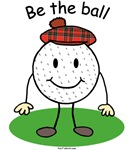 Be the Ball golf t-shirts & gifts