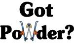 Got Powder? Ski t-shirts & gifts