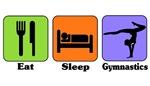 Eat Sleep Gymnastics t-shirts & gifts