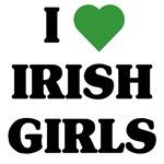 I Love Irish Girls t-shirts & gifts