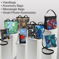 Art Print Handbags Purses