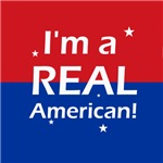 Politics - I'm a REAL American! Sarah Palin quote