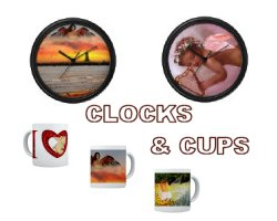 Clocks and Cups