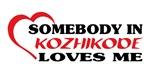 Somebody in Kozhikode loves me