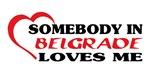 Somebody in Belgrade loves me