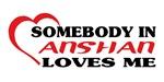 Somebody in Anshan loves me